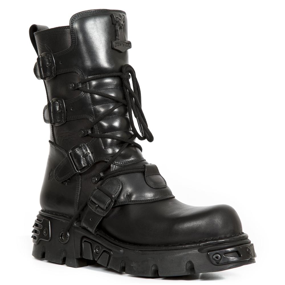 nouveaux prix plus bas taille 7 100% authentique boots homme new rock,Homme New Rock PRETO Noir Bottines Low ...