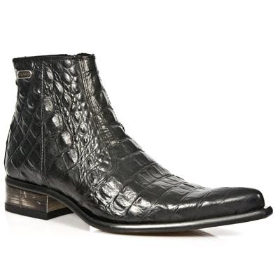Boots vintage collection Newman de la marque New Rock