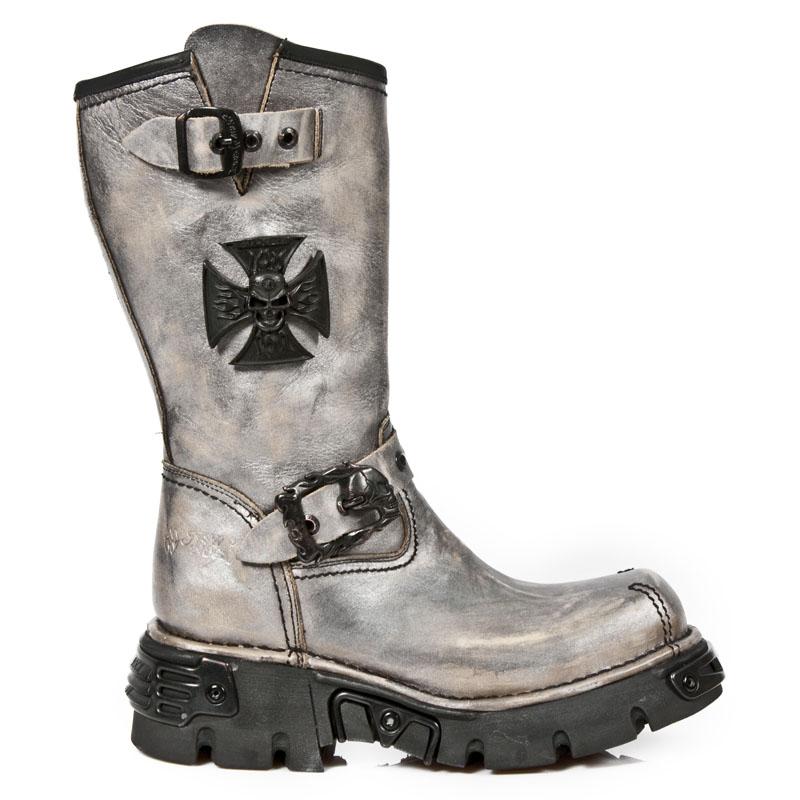 Stivali Biker della marca New Rock collezione Oxido Militar