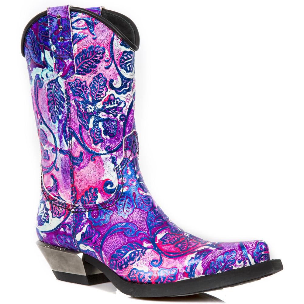 Botas de cowboy da marca New Rock coleção West