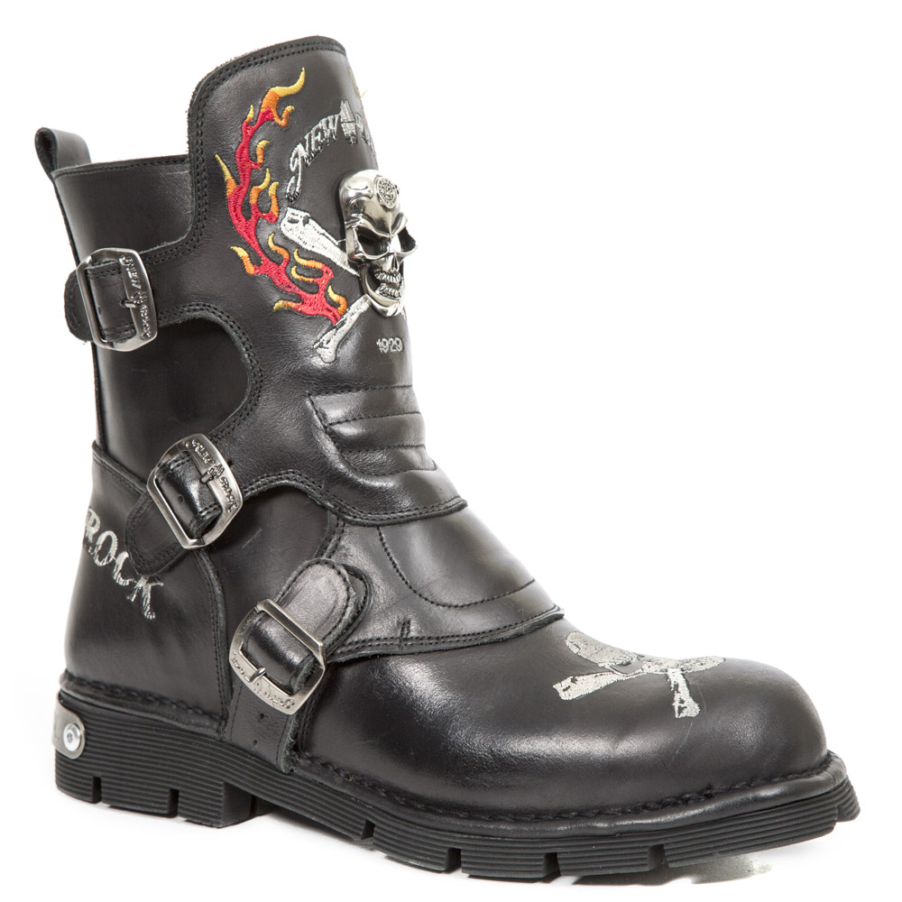 Botte biker de la collection Comfort-light de New Rock