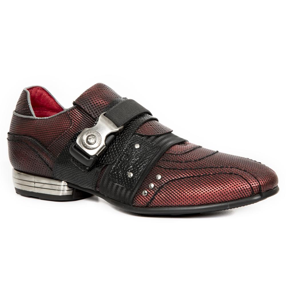 Sneakers in pelle collezione Snob marca New Rock