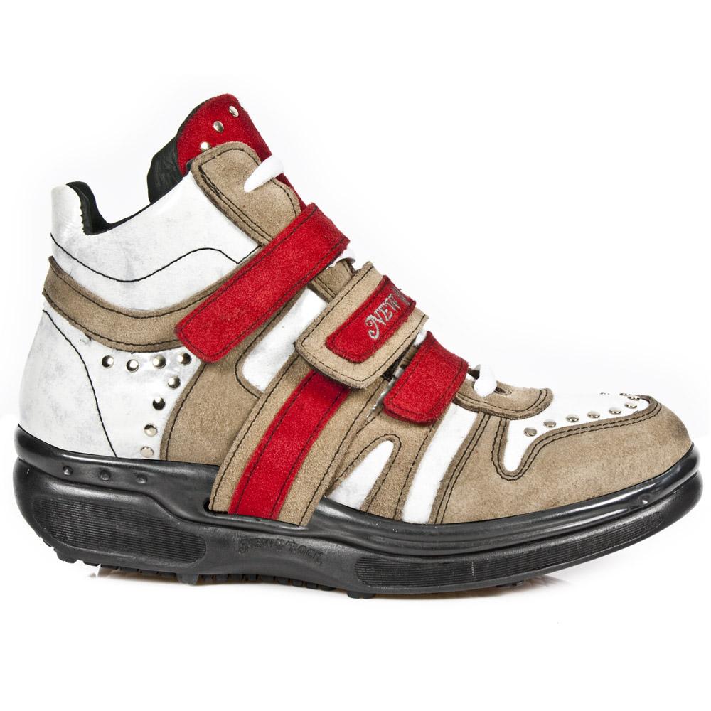 Sneakers alta uomo collezione Rocking della marca New Rock