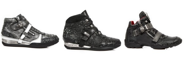 Baskets montantes mixtes de la marque New Rock collection Hybrid