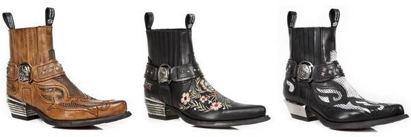 Boots Rock da marca New Rock