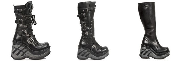 Bottes gothiques New Rock collection Neo Cuna Sport