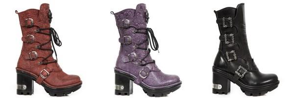 Coleção de botas compensada Neotyre de New Rock