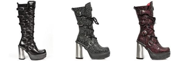 Stivali gotici della collezione New Circle di New Rock