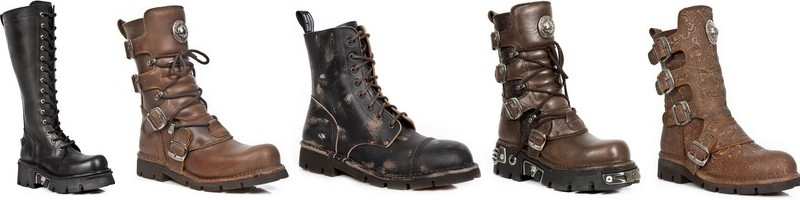 Botas Steampunk New Rock