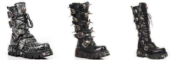 Gothic platform boots