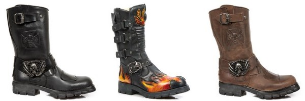 Bottes bikers New Rock