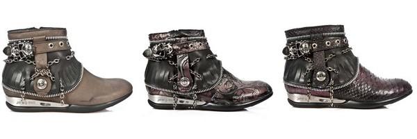 Botinhas da marca New Rock coleção Apache