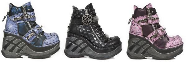 Chaussures montantes gothiques collection Neo Cuna Sport de New Rock