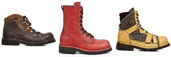 New Rock apresenta sua coleção Comfort-Light, sapatos e botas de couro misto