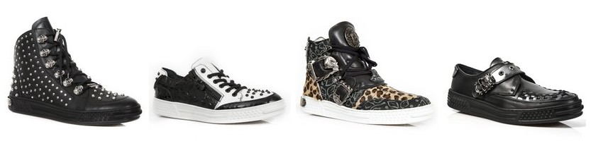 Baskets New Rock de style riot grrl
