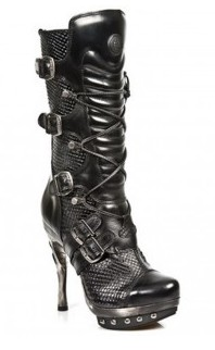 Stiletto boots from New Rock