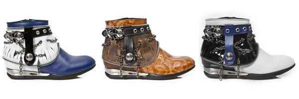 Botinhas western coleção Apache da marca New Rock