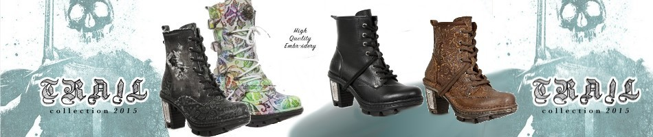 Bottes New Rock homme